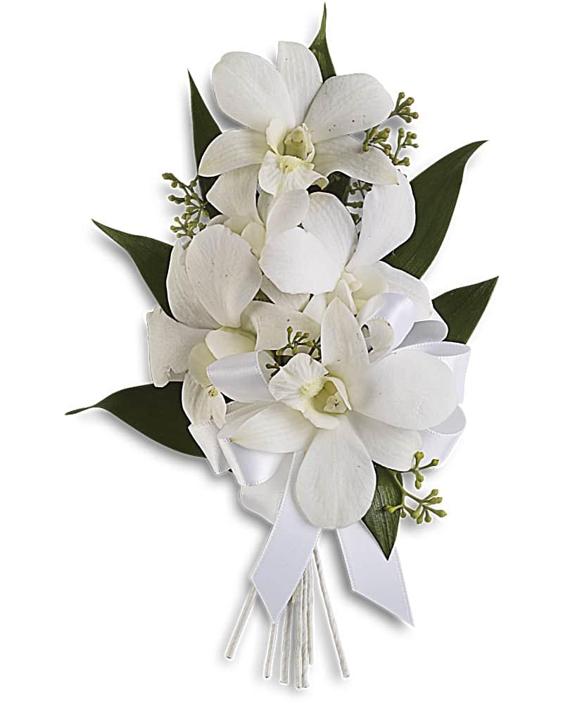 Corsage Orchidées Gracieuses