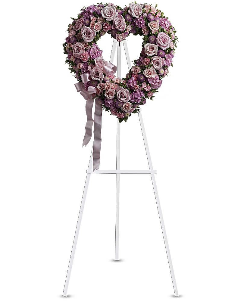 Coeur Jardin De Roses