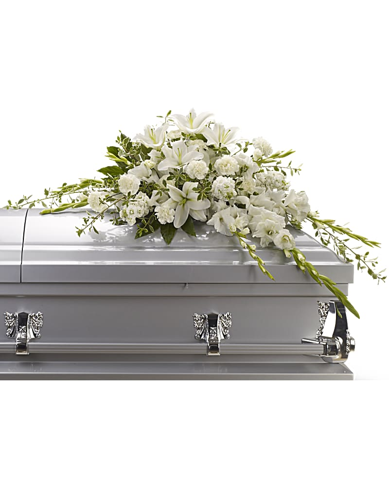 Gerbe De Cercueil Souvenirs Abondants