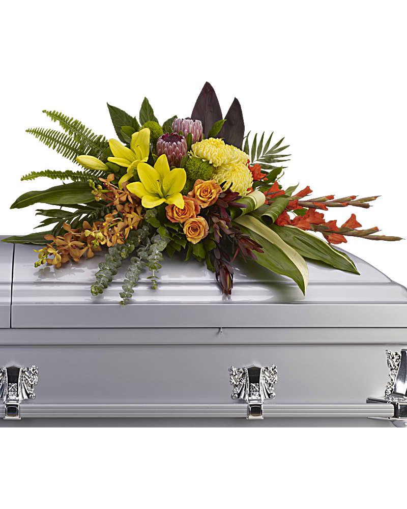Gerbe De Cercueil Souvenir Des îles