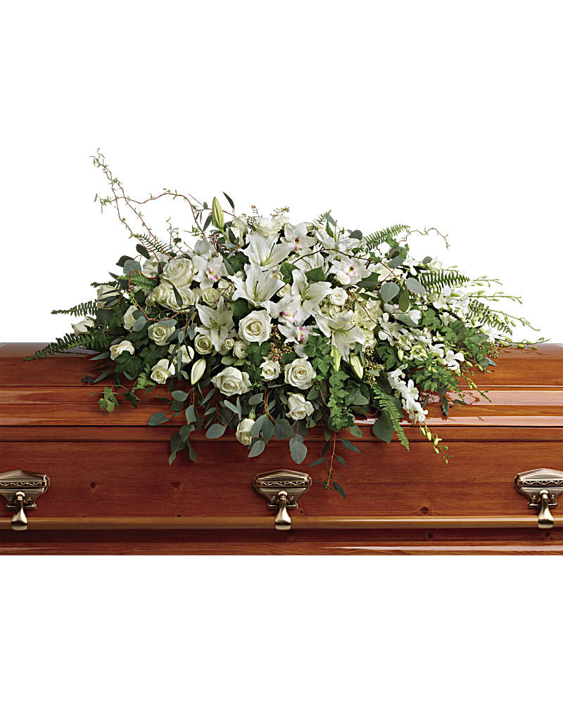Gerbe De Cercueil Gloire Immense