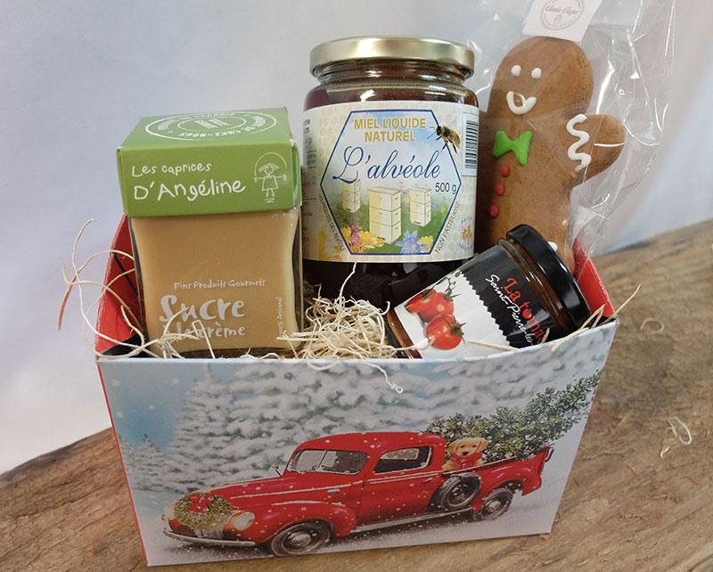 Boite-cadeau Camion De Noël