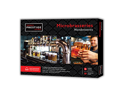 Coffrets Prestige – Microbrasserie