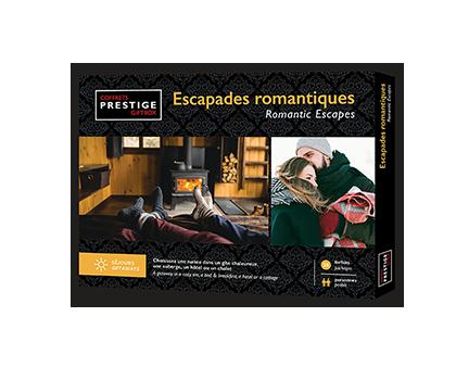 Coffrets Prestige – Escapades Romantiques