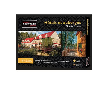 Coffrets Prestige – Hôtels & Auberges