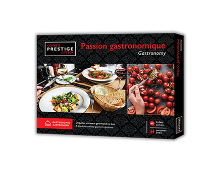 Coffrets Prestige – Passion Gastronomique