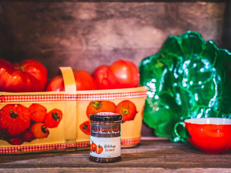 Ketchup Tomates Et Fruits