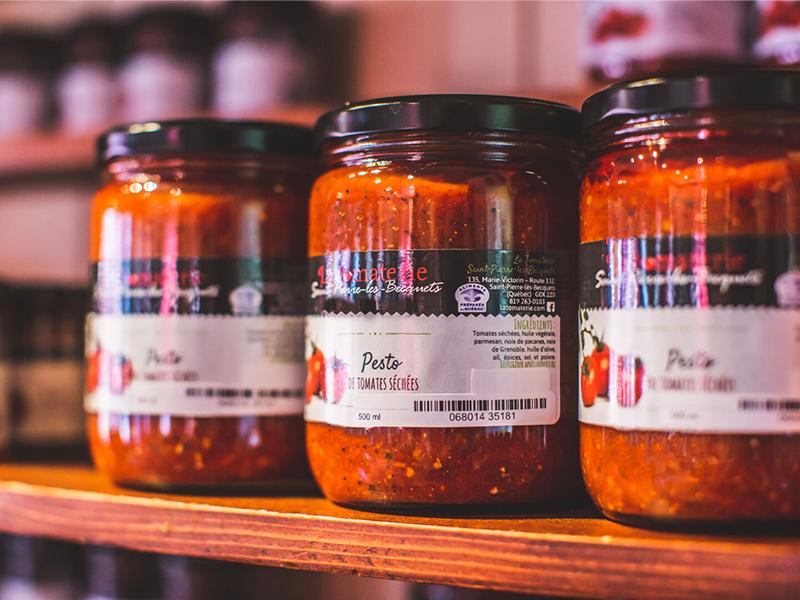 Pesto Tomates Séchées – 250 ML