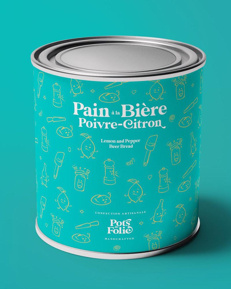 Pain à La Bière, Poivre Et Citron