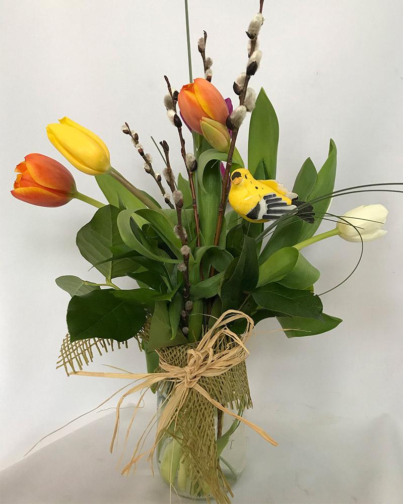 Pot De Tulipes
