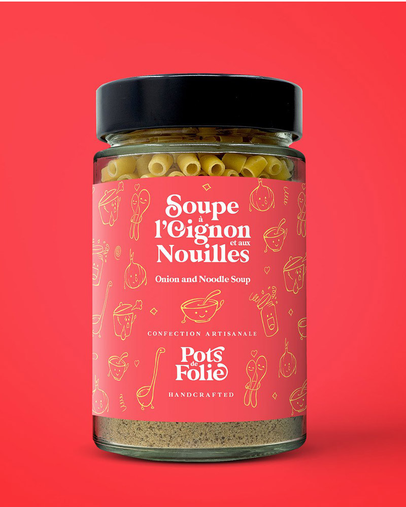 Soupe à L'oignon Et Aux Nouilles