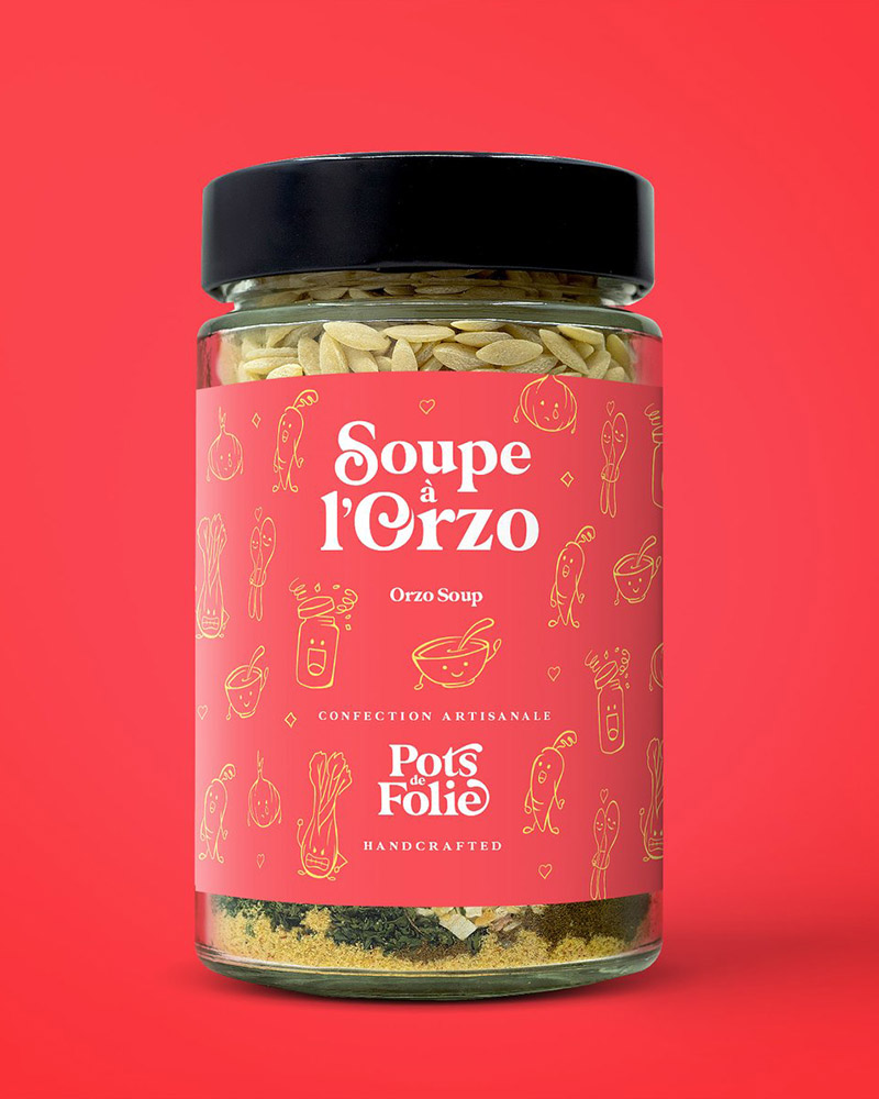 Soupe à L'Orzo